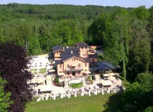 La Villa von oben